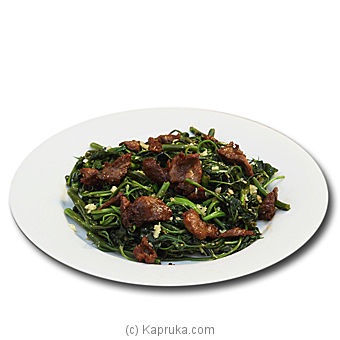 Kangkung With Beef - 110 By Chinese Dragon Cafe at Kapruka Online forspecialGifts