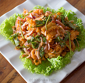 Deep Fried Cuttle Fish With Thai Sauce-(41)-Large at Kapruka Online for specialGifts