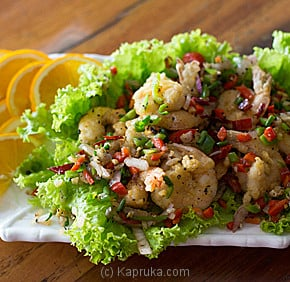 Salt And Pepper Deep Fried Prawns-(A26)-large at Kapruka Online for specialGifts