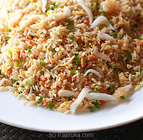 Seafood Fried Rice With Samba Sauce-(240)-Large at Kapruka Online for specialGifts