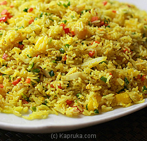 Fried Rice In Pineapple With Seafood-(243)-Large at Kapruka Online for specialGifts