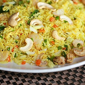 Indonesian Style Seafood Or Chicken Fried Rice-(249)-Large at Kapruka Online for specialGifts