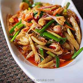Schezuwan Style Brinjal In Chilli Sauce-(216)-Large at Kapruka Online for specialGifts