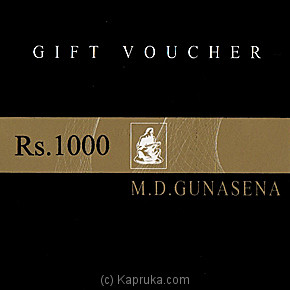 M D Gunasena Gift Voucher at Kapruka Online for specialGifts