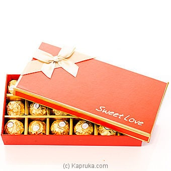 Sweet Love Chocolate Gift Box at Kapruka Online for specialGifts