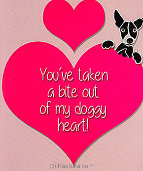 Embark My Doggy Heart at Kapruka Online for specialGifts