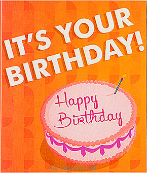 Embark It`s Your Birthday at Kapruka Online for specialGifts