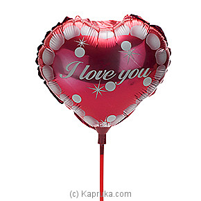 `I Love You`  Foil Baloon at Kapruka Online for specialGifts