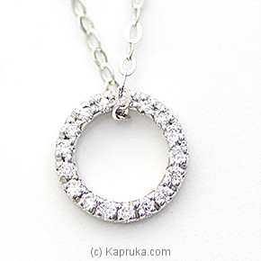 18k White Gold Pendent (ALP 2981 S) at Kapruka Online for specialGifts