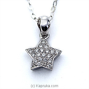 18k White Gold Pendent Set (ALP 1526) at Kapruka Online for specialGifts