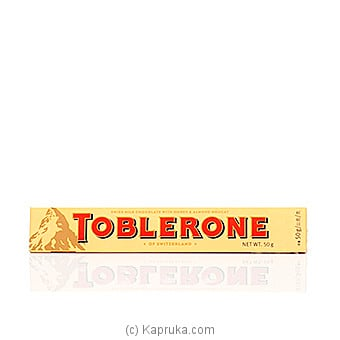 Toblerone Milk Chocolate -50g at Kapruka Online for specialGifts