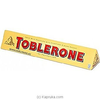 Toblerone Milk Chocolate 100g at Kapruka Online for specialGifts