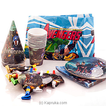 Disney Avengers Party Pack at Kapruka Online for specialGifts
