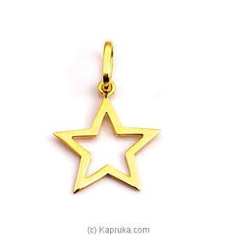 22kt Gold Pendant (P406/1) at Kapruka Online for specialGifts
