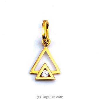 22kt Gold Pendant(P306/1) at Kapruka Online for specialGifts