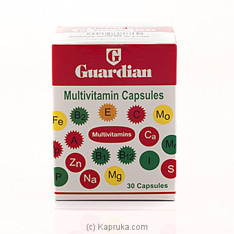 Guardian Multi Vitamin Capsules at Kapruka Online for specialGifts