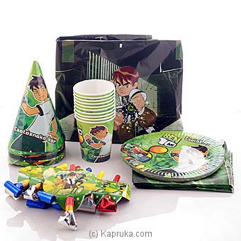 Ben10 Party Pack at Kapruka Online for specialGifts