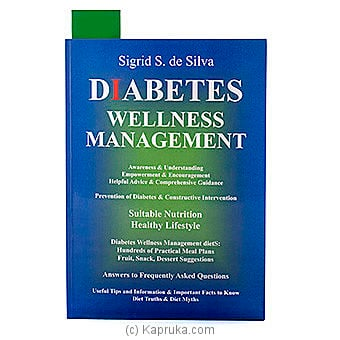 Diabetes Wellness Management at Kapruka Online for specialGifts