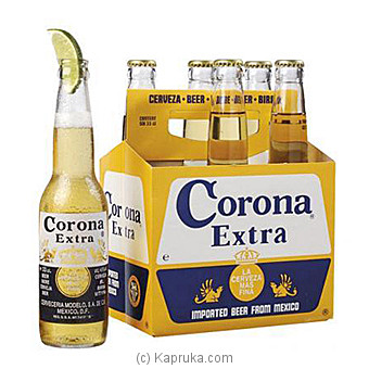 Corona Extra Beer 355ml Bottle(6 Per Case) at Kapruka Online for specialGifts