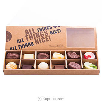 Cinnamon Lake Side 12 Pieces Chocolate Box at Kapruka Online for specialGifts