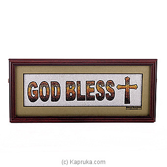 God Bless You Wall Hanging at Kapruka Online for specialGifts