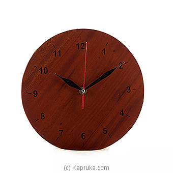 Wooden Wall Clock at Kapruka Online for specialGifts