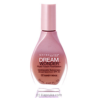 Maybelline New York Dream Wonder Fluid-touch Foundation at Kapruka Online for specialGifts