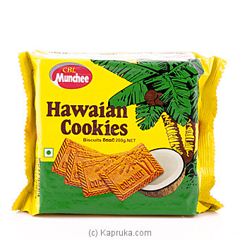 Munchee Hawaiian Cookies 200g at Kapruka Online for specialGifts