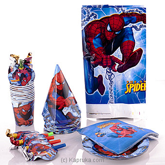 Spider Man Party Pack at Kapruka Online for specialGifts