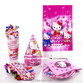 Hello Kitty Party Pack at Kapruka Online for specialGifts