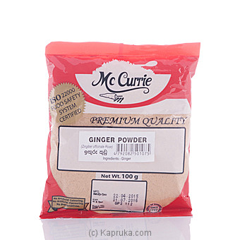 Mc Currie Ginger Powder 100g at Kapruka Online for specialGifts