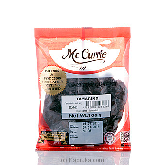 Mc Currie Tamarind 100g at Kapruka Online for specialGifts