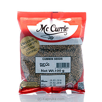 Mc Currie Cumin Seeds 100g at Kapruka Online for specialGifts