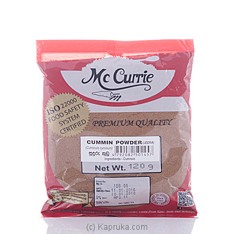 Mc Currie Cummin Powder 120g at Kapruka Online for specialGifts