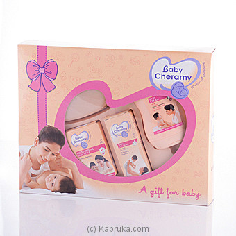 Baby Cheramy Gift Pack Pink at Kapruka Online for specialGifts