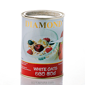 Diamond White Oats Instant Cooking Tin 500g at Kapruka Online for specialGifts