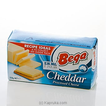 Bega Chadder Processed 250g at Kapruka Online for specialGifts