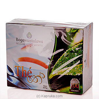 Bogawantalawa The Tea 100 Tea Bags at Kapruka Online for specialGifts