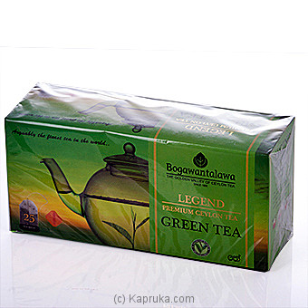 Bogawantalawa Green Tea 25 Tea Bags at Kapruka Online for specialGifts