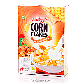 Kelloggs Corn Flakes With Real Almond And Honey 300g at Kapruka Online for specialGifts
