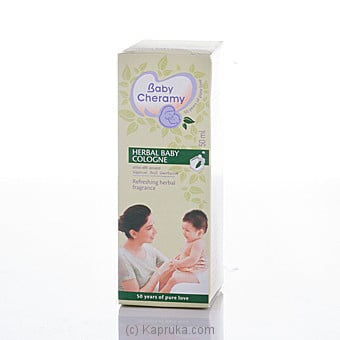 Baby Cheramy Herbal Baby Cologne 50ml at Kapruka Online for specialGifts