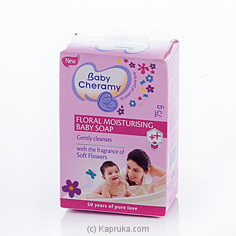 Baby Cheramy Floral Moisturiing Soap 75g at Kapruka Online for specialGifts