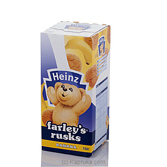Heinz Farleys Rusk Banana 150g at Kapruka Online for specialGifts