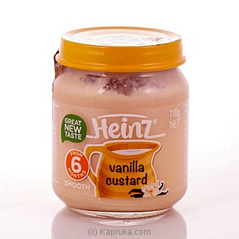 Heinz Vanilla Custard 6+ 110g at Kapruka Online for specialGifts