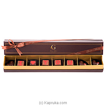 `I Love You` 8 Piece Chocolate Box(GMC) at Kapruka Online for specialGifts