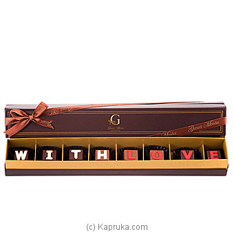 `With Love` 8 Piece Chocolate Box(GMC) at Kapruka Online for specialGifts