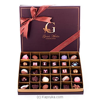 `Miss You` 30 Piece Chocolate Box(GMC) at Kapruka Online for specialGifts