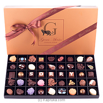 `Sorry` 45 Piece Chocolate Box(GMC) at Kapruka Online for specialGifts