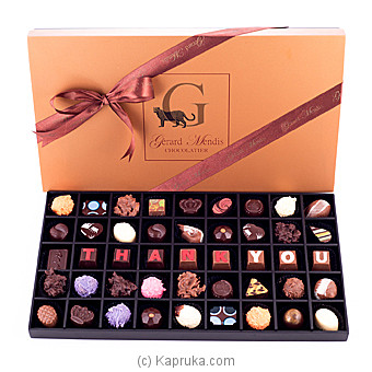 `Thank You` 45 Piece Chocolate Box(GMC) at Kapruka Online for specialGifts
