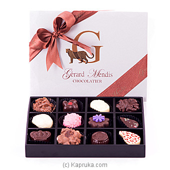 12 Piece Wooden Chocolate Box(GMC) at Kapruka Online for specialGifts